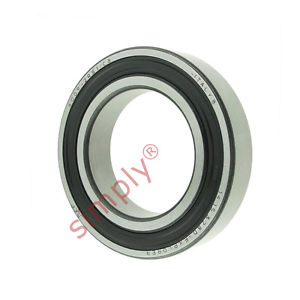 high temperature SKF 60092RSC3 Rubber Sealed Deep Groove Ball Bearing 45x75x16mm