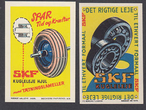 high temperature Denmark Poster Stamps  SKF BALLBEARING