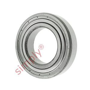 high temperature SKF 60062ZC3 Metal Shielded Deep Groove Ball Bearing 30x55x13mm