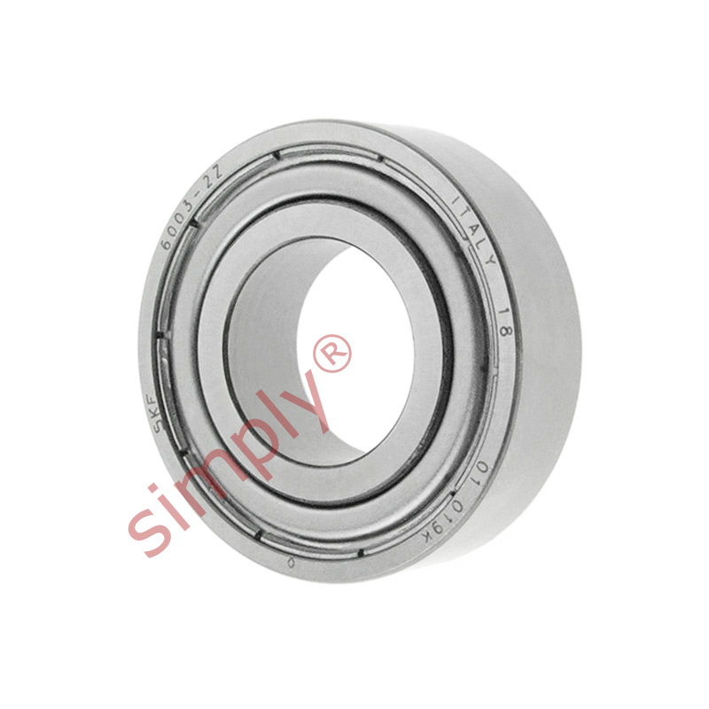 high temperature SKF 60032Z Metal Shielded Deep Groove Ball Bearing 17x35x10mm