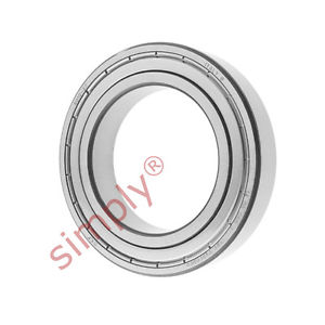 high temperature SKF 60102Z Metal Shielded Deep Groove Ball Bearing 50x80x16mm