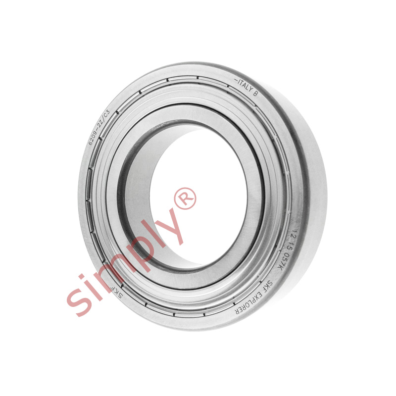 high temperature SKF 62092ZC3 Metal Shielded Deep Groove Ball Bearing 45x85x19mm