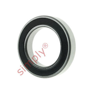 high temperature SKF 618022RS1 Rubber Sealed Thin Section Deep Groove Ball Bearing 15x24x5mm