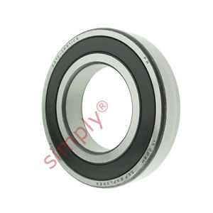 high temperature SKF 62122RS1C3 Rubber Sealed Deep Groove Ball Bearing 60x110x22mm
