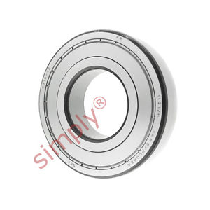 high temperature SKF 63122Z Metal Shielded Deep Groove Ball Bearing 60x130x31mm