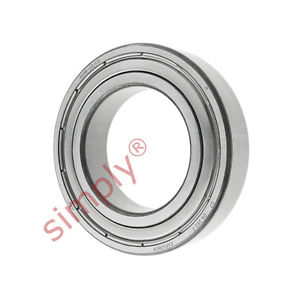 high temperature SKF 60082ZC3 Metal Shielded Deep Groove Ball Bearing 40x68x15mm