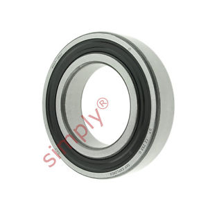 high temperature SKF 60072RS1 Rubber Sealed Deep Groove Ball Bearing 35x62x14mm