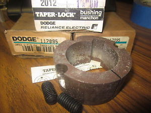 "high temperature TAPER-LOCK 117095 dodge BUSHING  2012  STYLE   17/8""……..XT-24A"