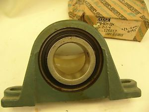 high temperature DODGE P2BSCM204 PILLOW BLOCK BEARING 126817  IN BOX (F84)