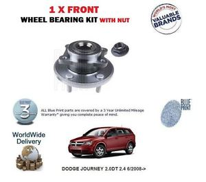 high temperature FOR DODGE JOURNEY 2.0DT 2.4 6/2008-   1 X FRONT WHEEL BEARING KIT WITH NUT