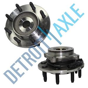 high temperature Both (2) New Complete Wheel Hub & Bearing Assembly Dodge Trucks 8-Lug ABS 4×4
