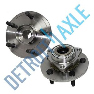 high temperature Both (2) Brand New Front Wheel Hub and Bearing Assembly NO ABS Dodge Trucks 2WD