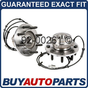high temperature PAIR  FRONT LEFT & RIGHT WHEEL HUB BEARING ASSEMBLY FOR DODGE 2500 3500 4X4