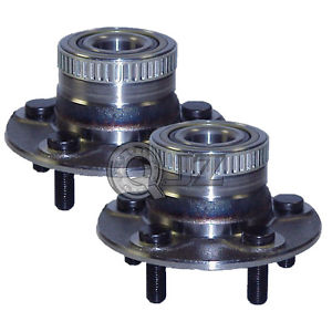 high temperature 2x 2000-2005 Dodge Neon Rear Wheel Hub Bearing Stud ABS Unit Replacement Kit New
