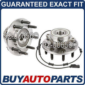 high temperature PAIR  FRONT LEFT & RIGHT WHEEL HUB BEARING ASSEMBLY FOR DODGE RAM 4X4