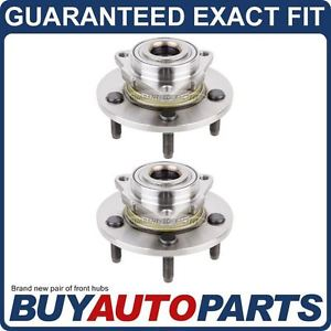 high temperature PAIR  FRONT LEFT & RIGHT WHEEL HUB BEARING ASSEMBLY FOR DODGE RAM 1500