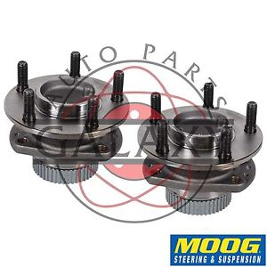 high temperature Moog New Rear Hub Bearing Pair For Chrysler Dodge Plymouth Mini-Vans FWD w/ ABS