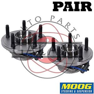 high temperature Moog New Front Wheel  Hub Bearing Pair For Chrysler Aspen Dodge Durango
