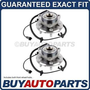 high temperature PAIR  FRONT LEFT & RIGHT WHEEL HUB BEARING ASSEMBLY FOR JEEP & DODGE