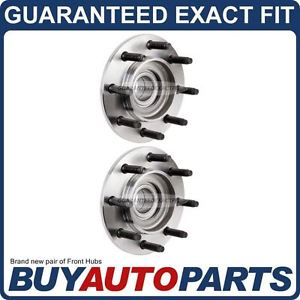 high temperature PAIR  FRONT LEFT & RIGHT WHEEL HUB BEARING ASSEMBLY FOR DODGE RAM TRUCKS 2WD