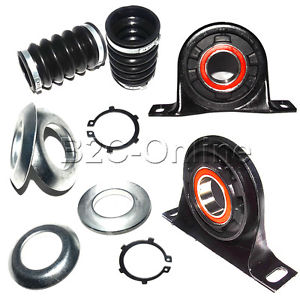 high temperature Fit Dodge Freightliner Sprinter Driveshaft Support Bearings Mount FRONT+REAR