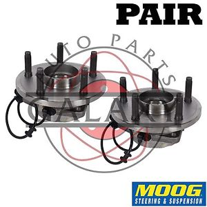 high temperature Moog New Front Wheel  Hub Bearing Pair For Dodge Durango 04-05 RWD AWD