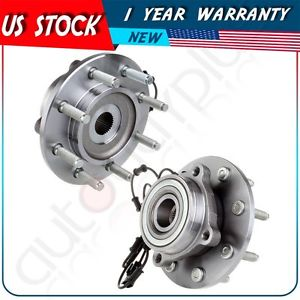 high temperature Pair (2) New Complete Wheel Hub & Bearing Assembly For Dodge Trucks 8 Lug W/ABS