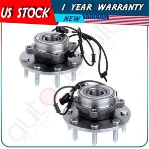 high temperature Both 2 New FRONT Driver and Passenger Wheel Hub And Bearing For Dodge w/ ABS 4×4