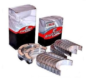high temperature Dodge 5.9L Cummins Rod & Main Bearing Kit 2003-2008 Enginetech Half Flange Main