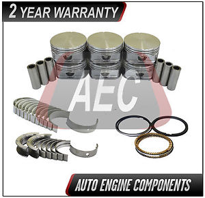 high temperature Pistons & Rings Set Bearing Kit Fits Dodge Grand Caravan 3.8 L Vin L OHV #MPR018