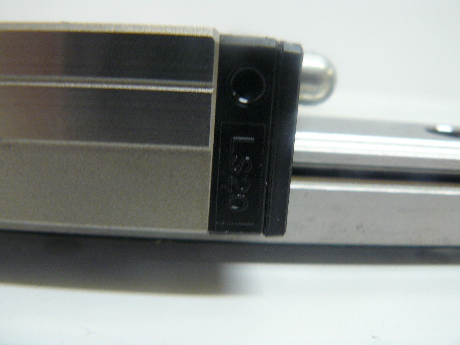 """high temperature TWO NSK LS20 BEARINGS WITH LINEAR RAIL 48 3/4"""" LONG X 3/4"""" WIDE X 5/8"""" TALL"""