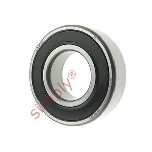 high temperature SKF 62052RSHC3 Rubber Sealed Deep Groove Ball Bearing 25x52x15mm