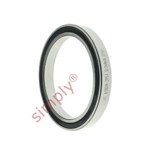 high temperature SKF 618092RS1 Rubber Sealed Thin Section Deep Groove Ball Bearing 45x58x7mm