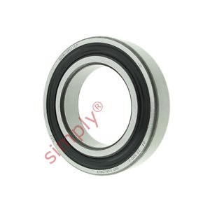 high temperature SKF 60082RS1C3 Rubber Sealed Deep Groove Ball Bearing 40x68x15mm