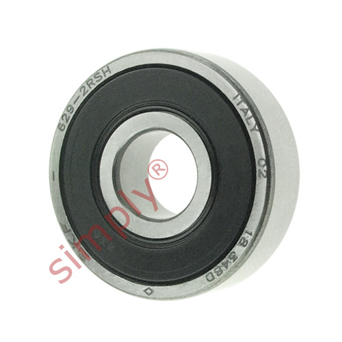 high temperature SKF 6292RSH Rubber Sealed Deep Groove Ball Bearing 9x26x8mm