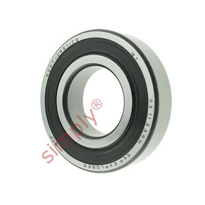 high temperature SKF 62072RS1C3 Rubber Sealed Deep Groove Ball Bearing 35x72x17mm