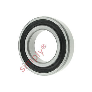 high temperature SKF 60062RS1 Rubber Sealed Deep Groove Ball Bearing 30x55x13mm