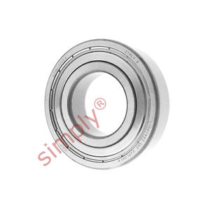 high temperature SKF 62062ZC3 Metal Shielded Deep Groove Ball Bearing 30x62x16mm