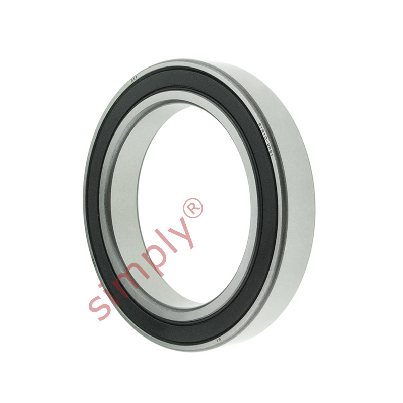 high temperature SKF 619102RS1 Rubber Sealed Thin Section Deep Groove Ball Bearing 50x72x12mm