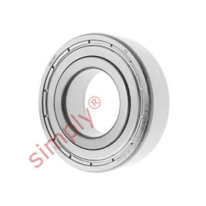 high temperature SKF 62052ZC3 Metal Shielded Deep Groove Ball Bearing 25x52x15mm