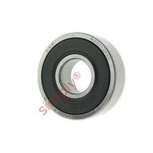 high temperature SKF 60002RSH Rubber Sealed Deep Groove Ball Bearing 10x26x8mm