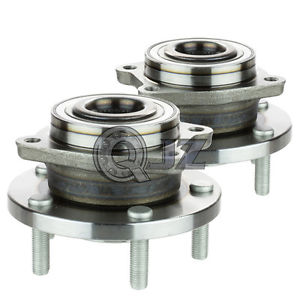 high temperature 2x 2008-2013 Dodge Avenger Front Wheel Hub Bearing Assembly w/ 5 Studs NON ABS
