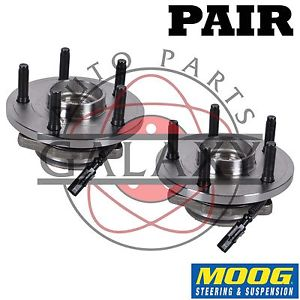 high temperature Moog New Front Wheel  Hub Bearing Pair For Dodge Daktota Mitsubishi Raider
