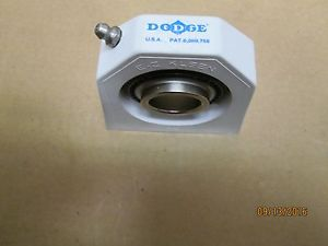 """high temperature  OTHER, DODGE 127510, TB-SCEZ-100-PCR 1"""" TAPPED BASE PILLOW BLOCK BEARING."""