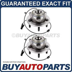 high temperature PAIR  FRONT LEFT & RIGHT WHEEL HUB BEARING ASSEMBLY FOR DODGE DURANGO