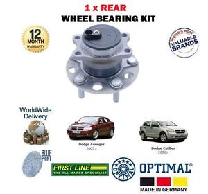 high temperature FOR DODGE AVENGER CALIBER 1.8 2.0DT 2.0 2.4 2006   REAR WHEEL BEARING HUB KIT
