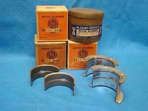 high temperature Dodge Desoto 265 218 236 165 Main Bearings 060 SEMI for eng w/o torque converter
