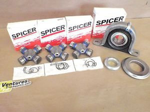 high temperature CARRIER BEARING AND GREASABLE U JOINT KIT DODGE RAM 1500 REAR 4X4 DRIVESHAFT