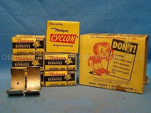 high temperature Dodge Plymouth 218 230 Six Series Special Deluxe Rod Bearing Set 001 1934-59 USA