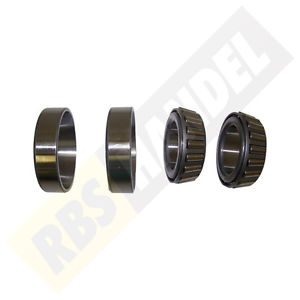 high temperature Side Bearing Set Front Axle DANA 44 Dodge RAM BR/BE 1997/2001